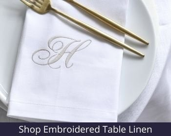 Table Linen 3 Personalised